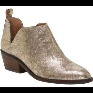 Lucky Brand Platinum Persia Fayth Boots/Booties